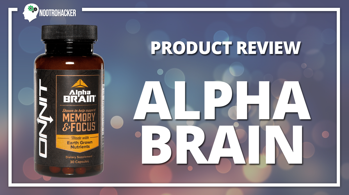 My Alpha Brain Review: The Focus Is On Focus (plus a touch of memory enhancement)